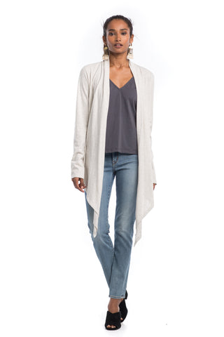 Outerwear - Heathered Metamorphose Cardigan