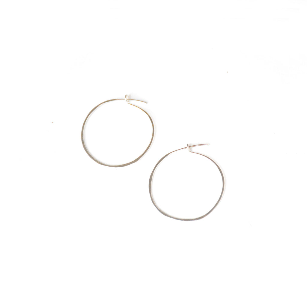 Sweet Little Hoops - Sterling Silver