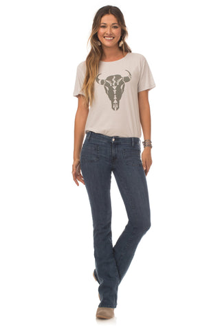 Tops - Buffalo Boyfriend Tee