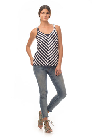 Tops - Striped Starlight Top