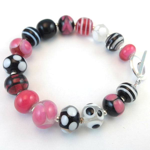 black raspberry ripple bracelet