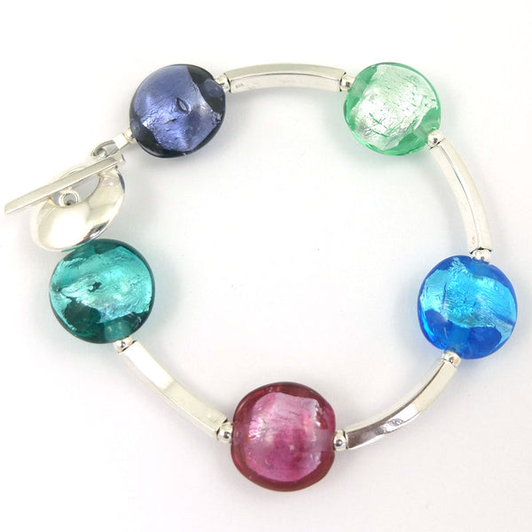 jewel sparkle bar bracelet
