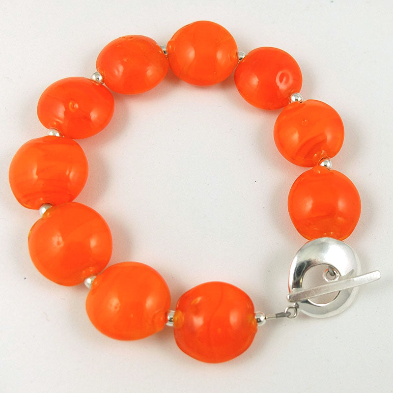 orange sunshine bracelet