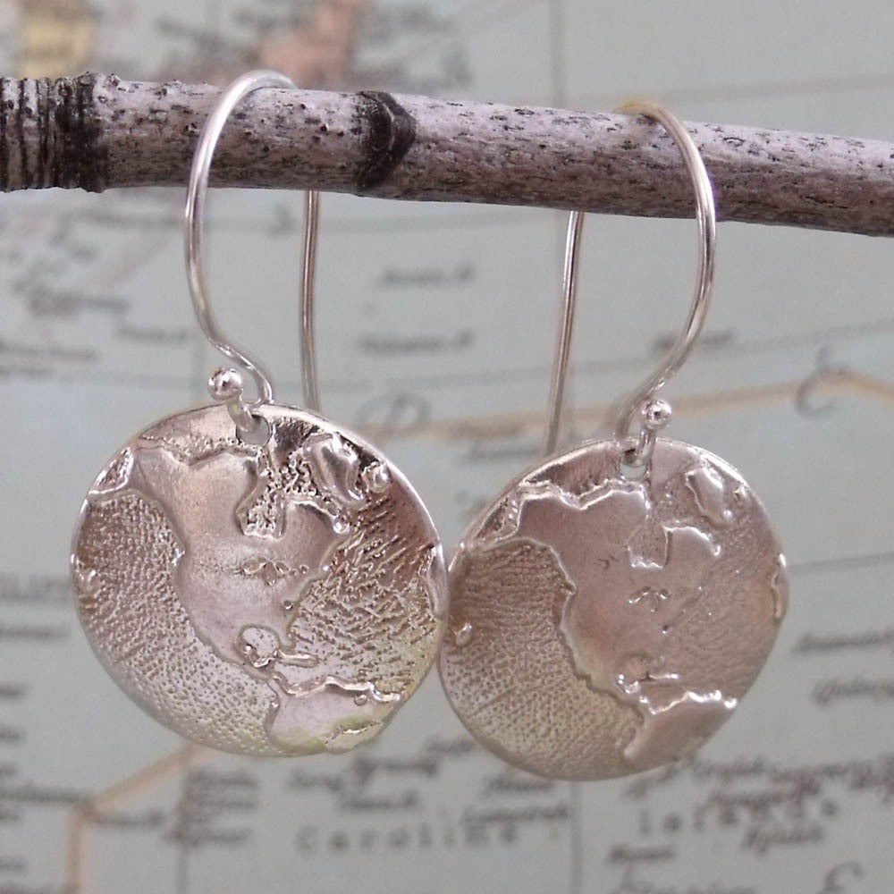 explore the world earrings