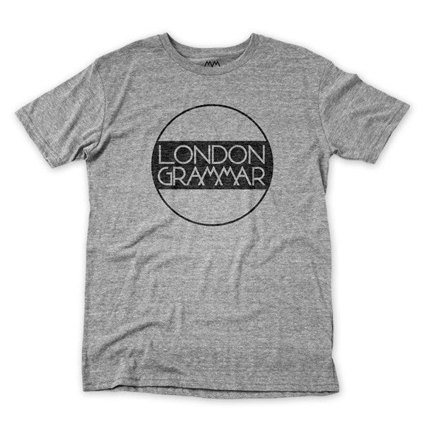 CIRCLE LOGO GREY T-SHIRT