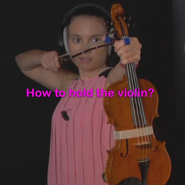 Lesson 001: How to hold the violin? - violino online, play violin online,   - tocar violin online, уроки игры на скрипке, Metodo Mirkovic - cours de violon en ligne, geige online lernen