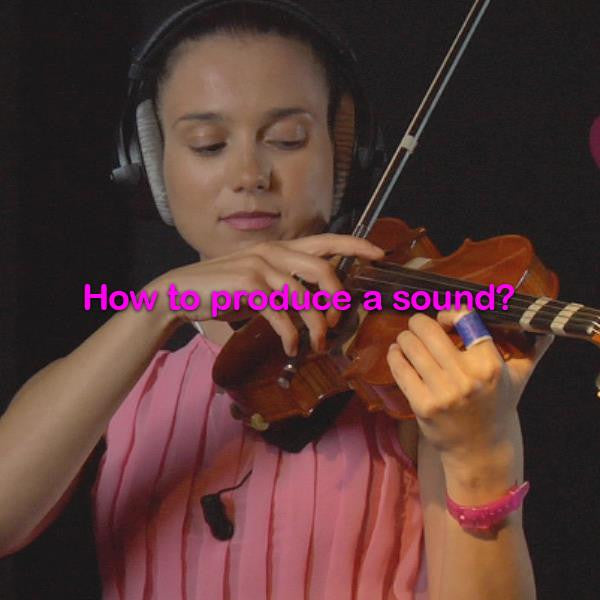 Lesson 008: How to produce a sound? - violino online, play violin online,   - tocar violin online, уроки игры на скрипке, Metodo Mirkovic - cours de violon en ligne, geige online lernen
