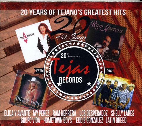 20 Years Of Tejano's Greatest Hitss