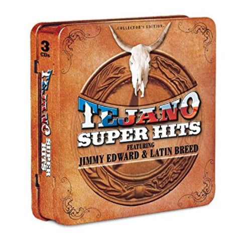 Tejano Super Hits-Feat: Jimmy Edward & Latin Breed-Collector's Edition CD Tin (Limited Qty)