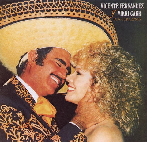 Vicente Fernandez and Vikki Carr - Dos Corazones (Currently out of stock)