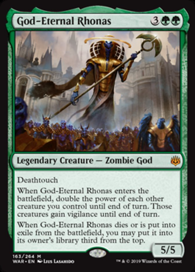 God-Eternal Rhonas - Legendary