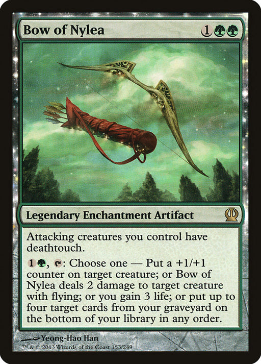Bow of Nylea - Nyxtouched