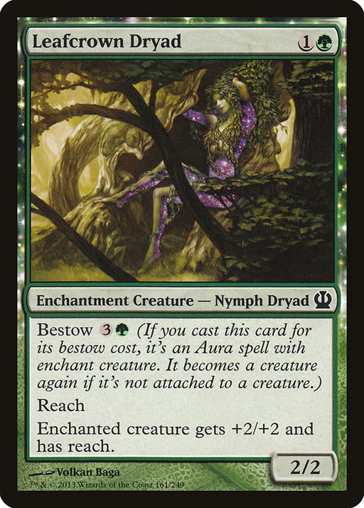 Leafcrown Dryad - Nyxtouched