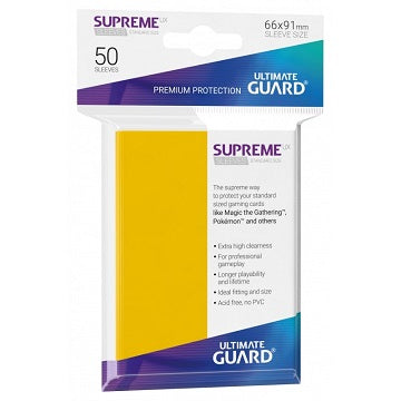 Ultimate Guard Supreme UX Sleeves Standard Size (50)