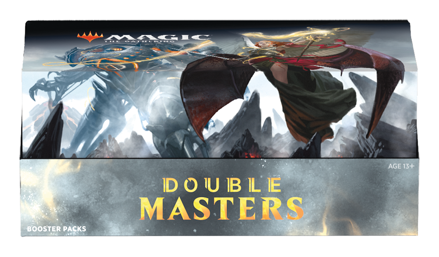 Double Masters Booster Box (Releases August 7, 2020)