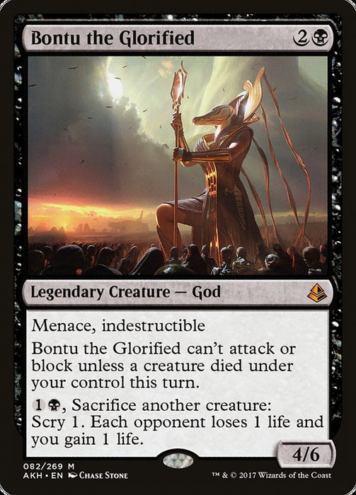 Bontu the Glorified