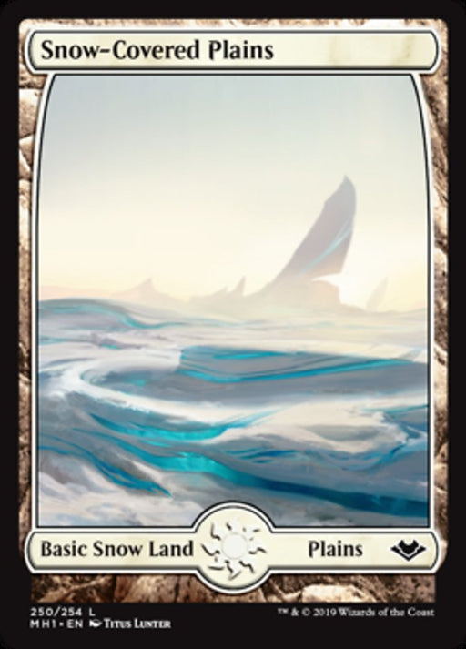 Snow-Covered Plains - Full Art