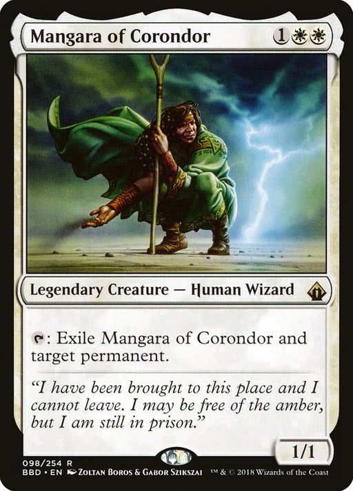 Mangara of Corondor - Legendary