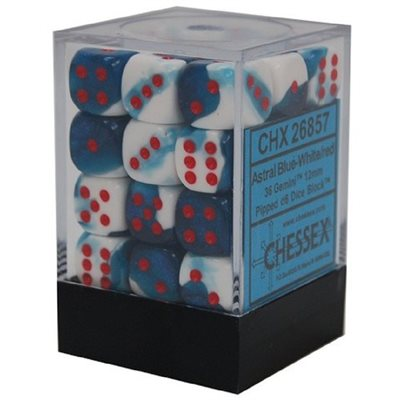 Chessex 36 Piece 12mm D6 Dice Set