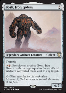Bosh, Iron Golem - Legendary