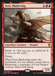 Verix Bladewing - Legendary