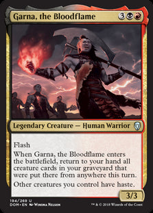Garna, the Bloodflame - Legendary