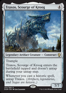 Traxos, Scourge of Kroog - Legendary