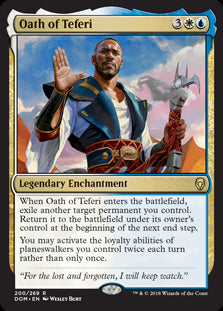 Oath of Teferi - Legendary