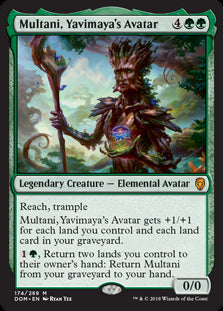 Multani, Yavimaya's Avatar - Legendary