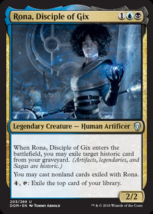 Rona, Disciple of Gix - Legendary