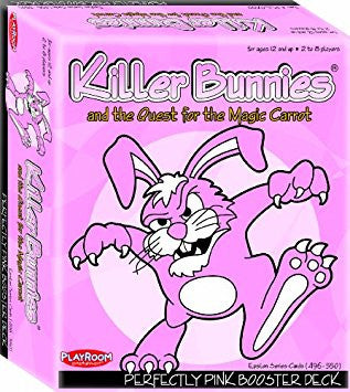 Killer Bunnies: Booster Pack - Perfectly Pink