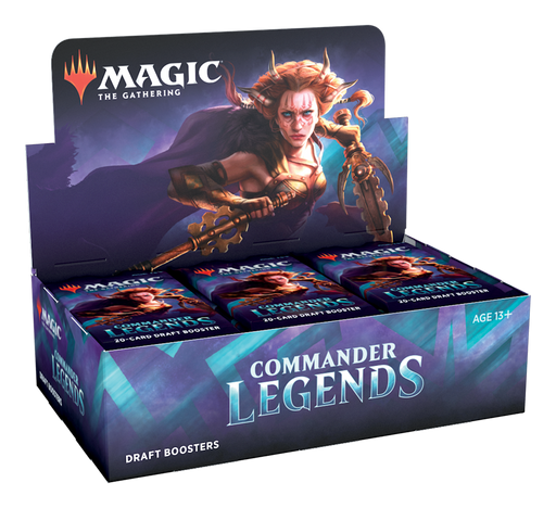 Commander Legends Draft Booster Box - Releases November 20