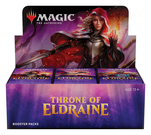 Throne of Eldraine Booster Box Store Pickup (includes Collector Booster & Buy-A-Box Promo) - Releases September 27th