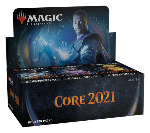 Core Set 2021 AWESOME COMBO - Contains 1 Booster Box, 1 Bundle and 1 of each Planeswalker deck (Ships July 3rd) (No Buy A Box Promo)