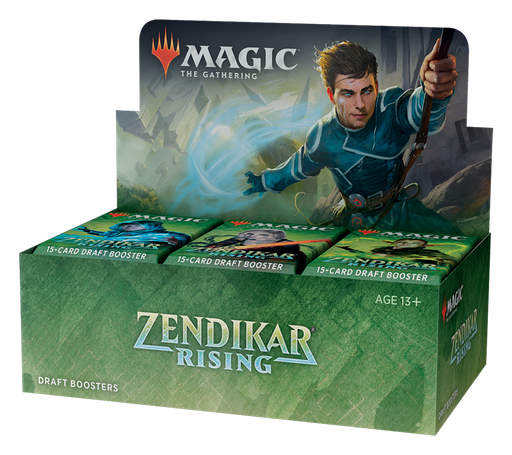 Zendikar Rising AWESOME Combo - Contains 1 Draft Booster Box, 1 Bundle, and both Commander Decks