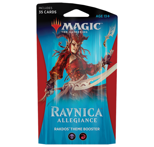 Ravnica Allegiance Theme Booster - Rakdos (Red/Black)