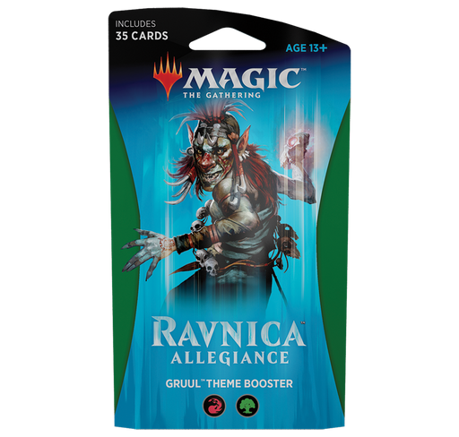 Ravnica Allegiance Theme Booster - Gruul (Red/Green)