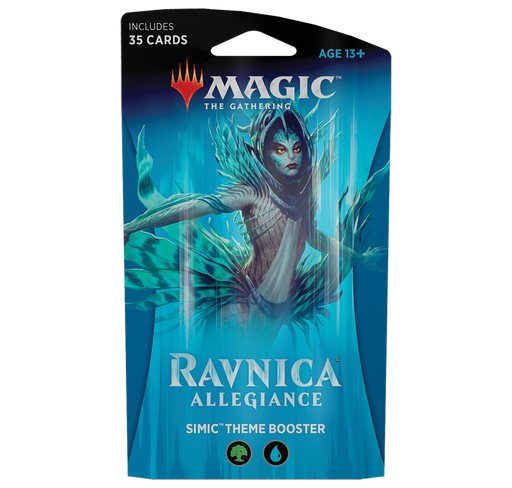 Ravnica Allegiance Theme Booster - Simic (Blue/Green)