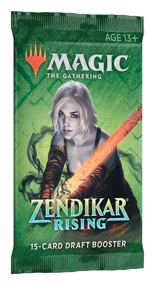 Zendikar Rising Draft Booster Packs (Releases September 25, 2020)