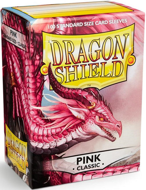 Dragon Shield Classic Pink Sleeves