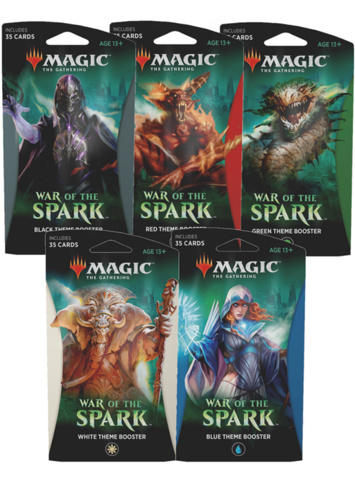 War of the Spark Theme Booster - Set of 5