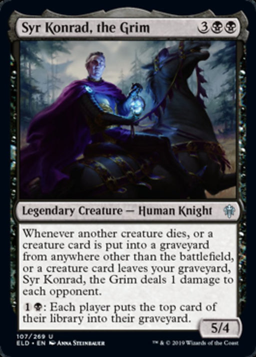 Syr Konrad, the Grim - Legendary