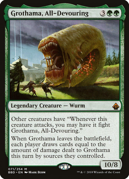 Grothama, All-Devouring - Legendary