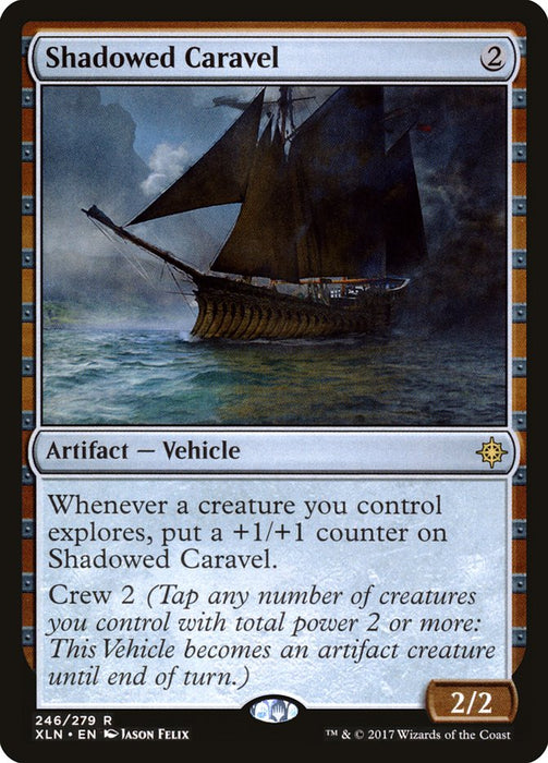 Shadowed Caravel