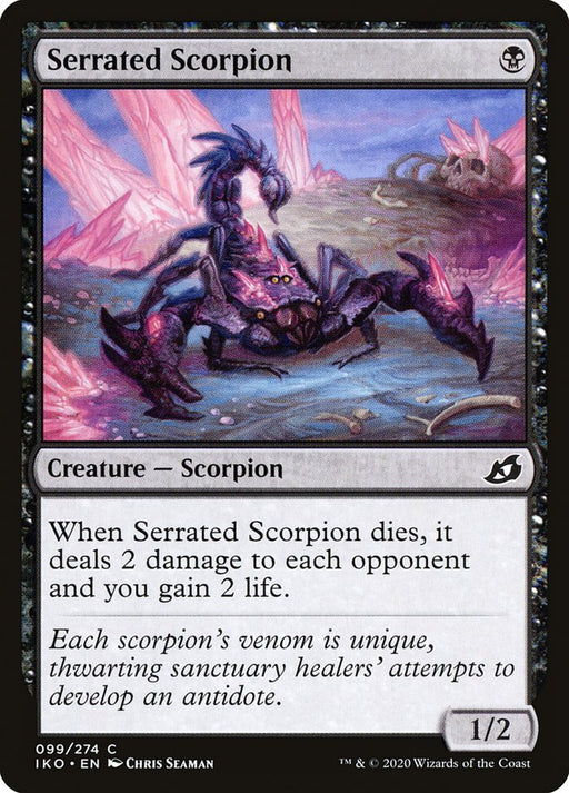 Serrated Scorpion