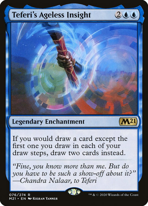 Teferi's Ageless Insight  - Legendary