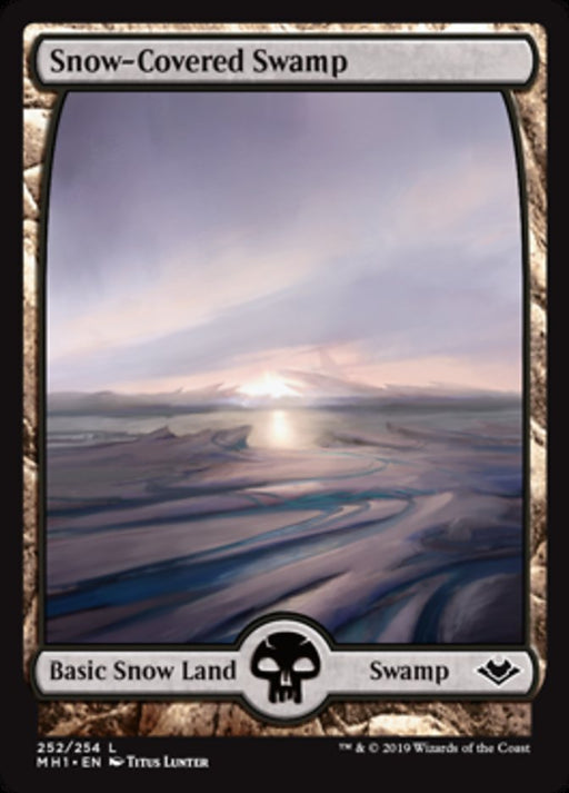 Snow-Covered Swamp - Full Art