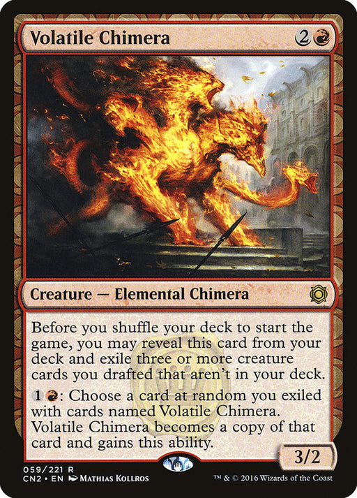 Volatile Chimera - Draft