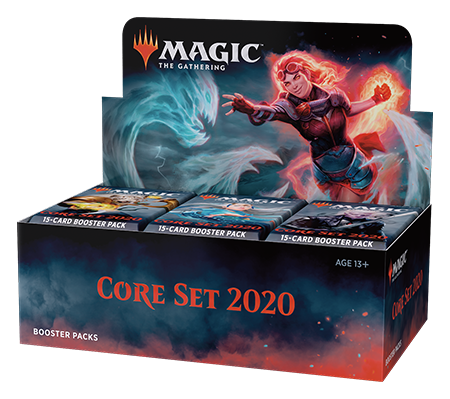 Core Set 2020 Booster Box (with Buy-A-Box Promo**)