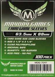 MAYDAY GAMES CARD SLEEVES